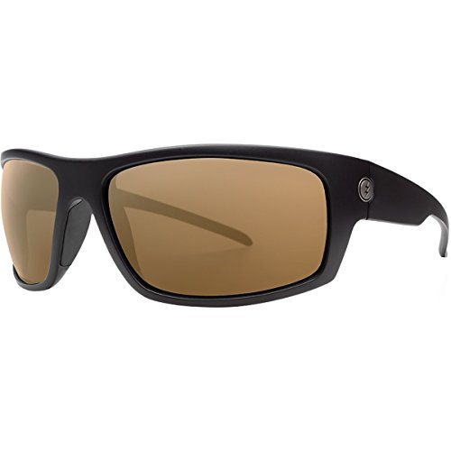 Electric Visual Tech One XLS Matte Black/OHM+Polarized Bronze Sunglasses by Electric