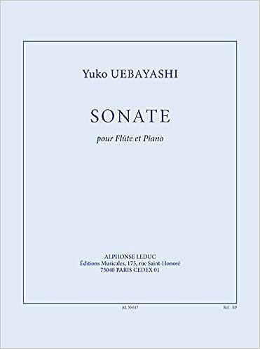 Amazon Com Uebayashi Sonate 26 Pour Flute Et Piano