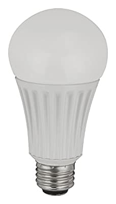TCP RLA1527ND LED A19 - 100 Watt Equivalent (15W) General Purpose Light Bulb
