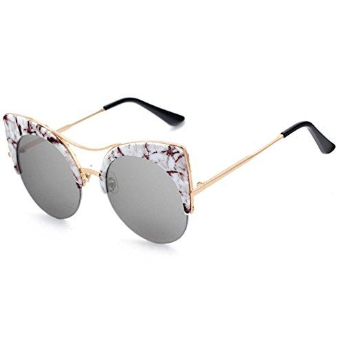 Aoligei Hommes et femmes américano-européen réflectorisé réfléchissant lunette de soleil rue lunettes de tir bKt4TK8X