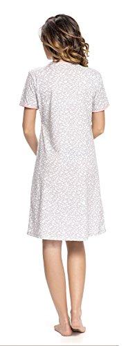 Di Camicia Alla Moda Colori Grigio In dn Comoda 4044 Notte Maternita nightwear Rosa TCB Da Pxwq07I