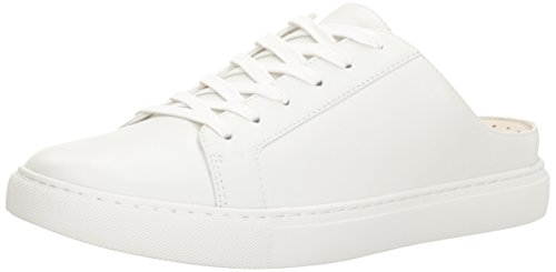 Kenneth Cole New York Women's Kinsley Fashion Sneaker, White, 8.5 M US (Backless Sneakers)
