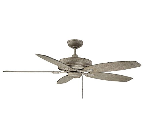(Savoy House Kentwood 52 inch 5-Blade Ceiling Fan in Aged Wood)