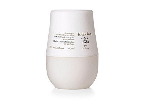 Linha Todo Dia (Sem Perfume) Natura - Desodorante Antitranspirante Feminino Roll-On 70 Ml - (Natura Every Day ( No Fragrancy) Collection - Roll-On Antiperspirant Deodorant For Women 2.36 Fl - Nature On Roll Perfume