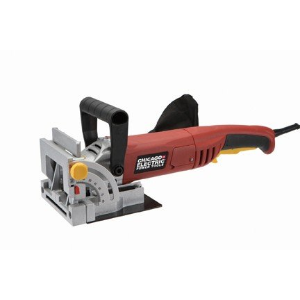 Sale!! 4 Plate Joiner 120 volts, 6 amps, 10,000 RPM, 60 Hz, single phase; Includes carbide tipped b...