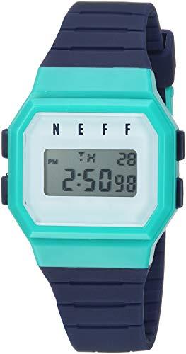 55b5ca33dd0 neff Men s Flava Digital Athletic Water Resistant Watch Unisex