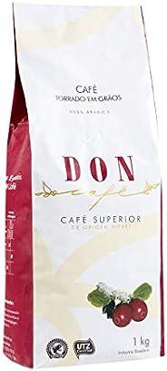 Café Torrado em Graos Don Superior 1kg