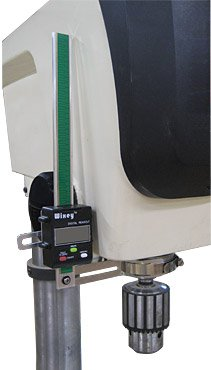 WIXEY Digital Drill Press Depth Gauge by Wixey