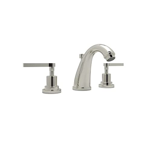 Rohl A1208LMPN-2 Avanti Double Handle Widespread Lavatory Faucet with Metal