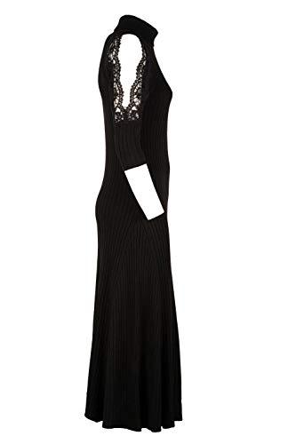 Mujer Vestido Algodon Mg06ver99 Scervino Ermanno Negro RqnAwP50X