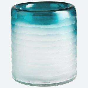 Cyan Lighting 06693 Thelonious - 8.5 Vase, Blue/Clear Finish by Cyan lighting B01IE7NTDU