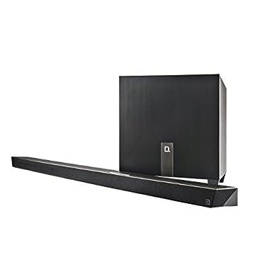 Definitive Technology W Studio Micro Ultra-Slim 3.1 Wireless Sound Bar & Wi-Fi Music Streaming System