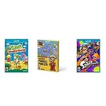 Super Mario Maker ,Yoshi's Woolly World & Splatoon Wii U EXCLUSIVE Bundle