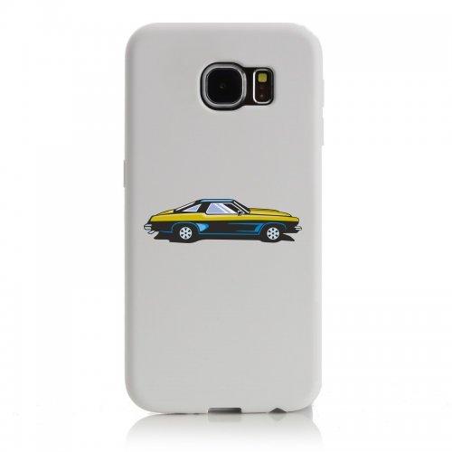 """Smartphone Case Apple IPhone 4/ 4S """"hot Rod Sportwagen Oldtimer Young Timer Shellby Cobra GT Muscel Car America Motiv 9828"""" Spass- Kult- Motiv Geschenkidee Ostern Weihnachten"""