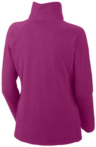 in Columbia Pile Glacial III Blush Pullover 1 2 Zip Fucsia Deep Hw1WYrq4aw