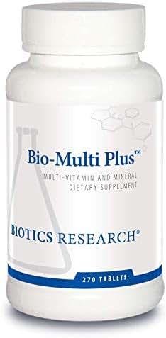 Biotics Research Bio-Multi Plus™ - Multivitamin, Chelated Minerals, Emulsified Fat-Soluble Vitamins, High antioxidants, SOD, Catalase 270 ct