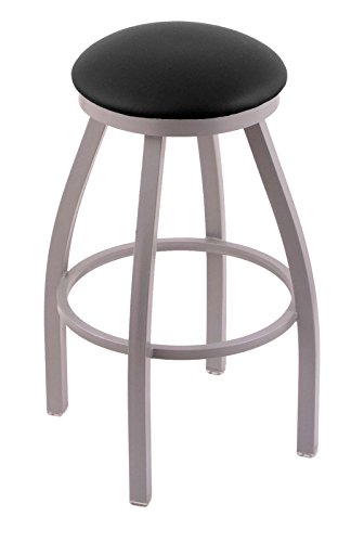 "31G4wNVXbUL - 802 Misha 30"" Bar Stool with Anodized Nickel Finish and Swivel Seat"