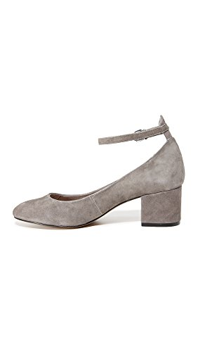 Steve Women's Madden by Vassie Pump Grey Dress Suede Steven rqr4tnxwT