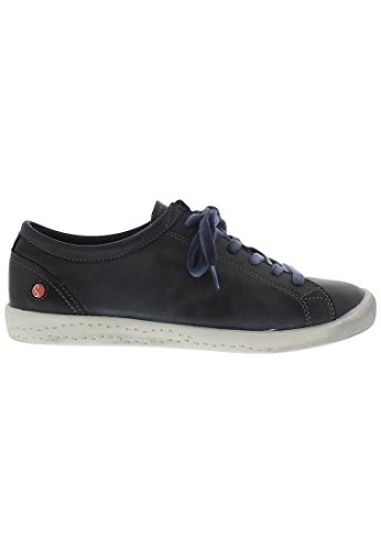 Softinos Isla Dames Derby Lace Up Brogues Blauw