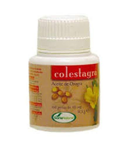 Aceite de Onagra Colestagra 100 perlas de Soria Natural: Amazon.es ...