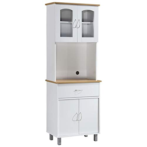 Pemberly Row Kitchen Cabinet in White by Pemberly Row (Image #7)