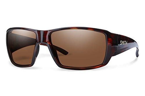 - Smith Guides Choice Techlite Glass Sunglasses, Havana