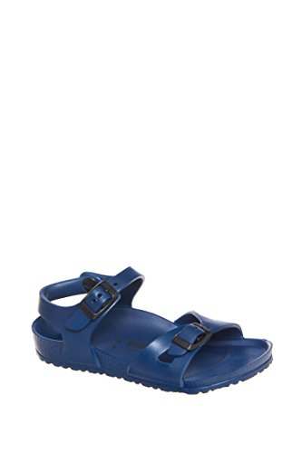 Birkenstock Kid's Rio EVA Sandals, Navy Synthetic, 30 N EU, 12-12.5 N