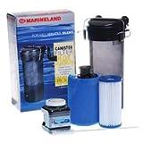 H.O.T. Magnum Pro Aquarium Filter System - Up to 55 gals - 6 in x 5 in x 13.5 in