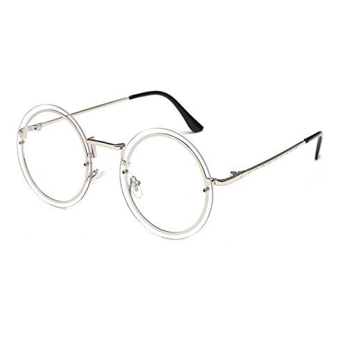 Aoligei Trendy rond cadre populaire rétro hommes et femmes générales lunettes de soleil lunettes de soleil ZN4N1GcE3c