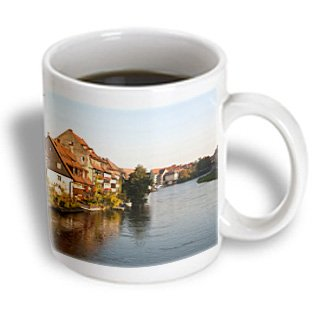 Danita Delimont - Germany - Little Venice, River Regnitz, Bamberg, Germany - EU10 MDE0221 - Michael DeFreitas - 15oz Mug (mug_137204_2)
