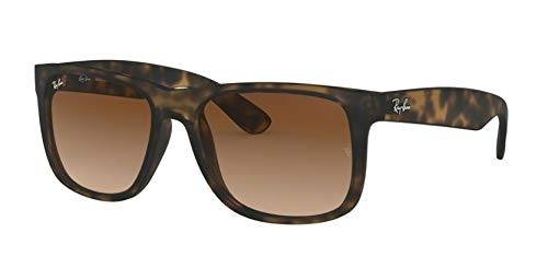 Ray-Ban Justin Sunglasses (RB4165) Tortoise/Grey Plastic - Non-Polarized - 54mm (Ray Ban Specs)