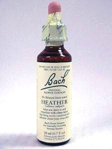 Bach Heather Bach Flower Essence 20 ml by Nelson Bach