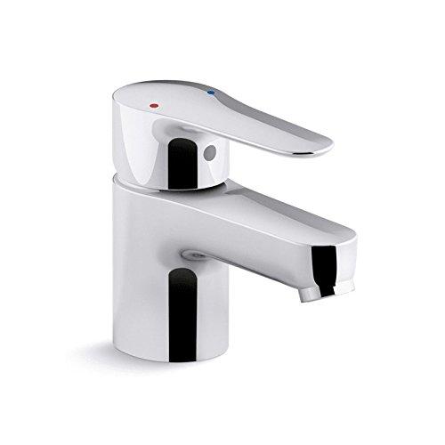 Cp Bath Faucet (Kohler K-97282-4-CP July Single-Handle Bathroom Sink Faucet Less Drain)