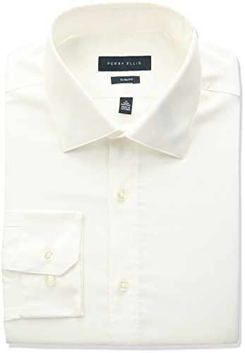 Perry Ellis Collection Solid Non Iron