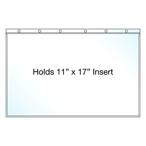 - EnvyPak Clear Presentation (11x17) Page Protectors - Pack of 25 - Made in the USA
