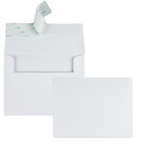 A2 Invitation Envelopes with Self Seal Closure, 4-3/8