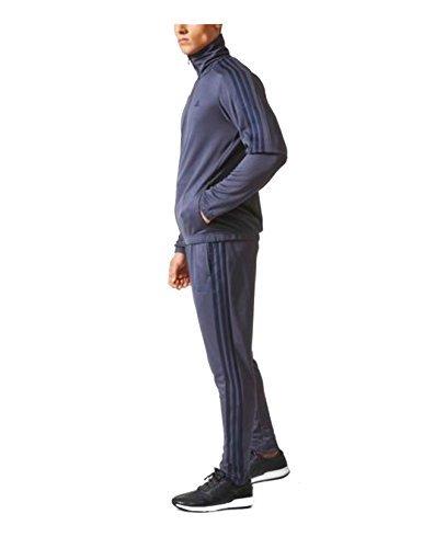 adidas Men's Tiro Track Suit -Conavy Size L (Tracksuit Logo)