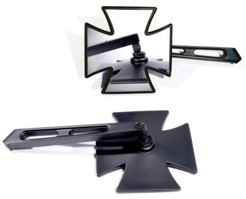 Spiegel Set Eisernes Kreuz schwarz