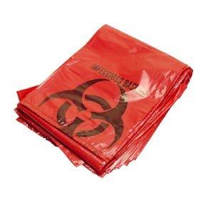 Biohazard Disposal Bags 31'' X 41'' 10/pkg