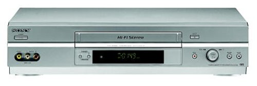 Sony SLV-N750 Full Chassis 4-Head Hi-Fi VCR by Sony