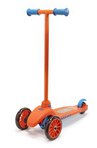 Lean To Turn Scooter- Orange/ Blue