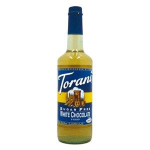 Torani Sugar Free White Chocolate - White Coffee Syrup For Chocolate