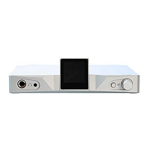 SMSL M9 32bit/768kHz DSD512 AK4490x2 XMOS HiFi Audio DAC Digital to Analog Converter, Balanced Headphone Amplifier with Optical Coaxial USB Input