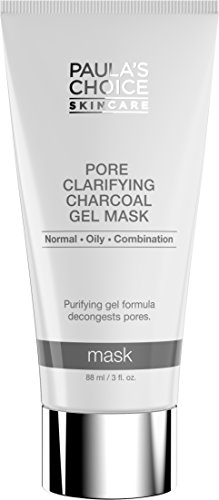 Paula's Choice Pore Clarifying Charcoal Gel Mask with Porous Charcoal and Natural Clays, 3 Ounce Bottle, Charcoal Face Mask to Balance Oily Skin or Combination Skin, Charcoal and Clay Face (The Clay That Heal)