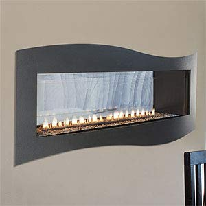 Empire Comfort Systems Boulevard IP Contemporary See-Through Vent-Free 40k BTU Fireplace - LP