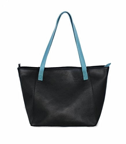 Mazza Bag Valeria Shop Black Design cm Women's H negro x Shopper W 17x26x28 Starlite L Shoulder wtAE88