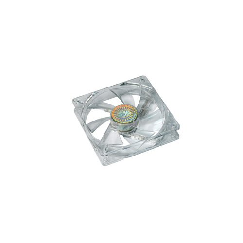 120mm blue led fan - 9