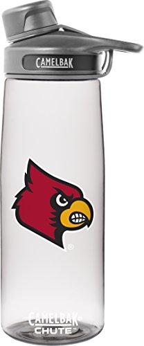 (NCAA Louisville Cardinals Chute Collegiate, 0.75 L, Clear)
