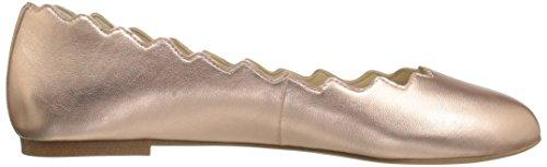 Sam Edelman Womens Francis Ballet Flat Primrose Metallic Leather