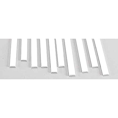 Plastruct MS-825 Rect Strip,.080x.250 (10), PLS90769 ()